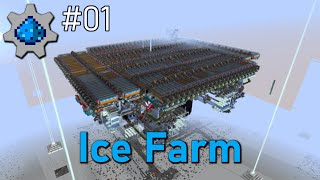 Mechanists #01 | 72.000/h Ice Farm | Minecraft 1.15.2