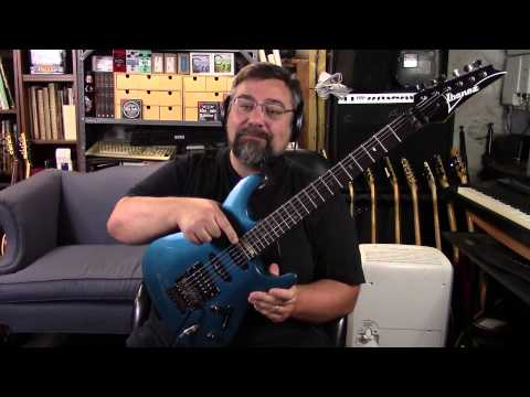 1991 Ibanez 540S in Lazer Blue with Duncan '59 and Little '59 pickups
