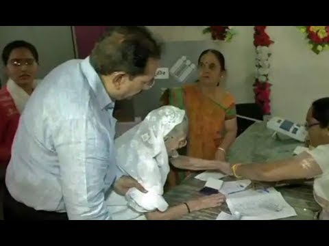 Lok Sabha Elections 2019: Heeraben, PM Modi's mother casts her vote