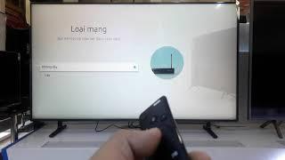 Hướng dẫn kết nối mạng Internet cho Smart Tivi Samsung (dùng điều khiển One Remote)