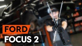 Hogyan cseréljünk Lengéscsillapító szett FORD FOCUS II Saloon (DA_) - online ingyenes videó