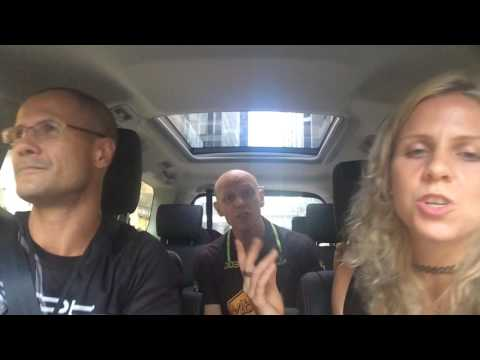 Health Fest Car Pool Karaoke with Linds Russell from Ape Fit