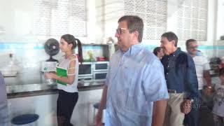 General Theóphilo pre candidato a governador do Ceará em visita a Limoeiro do Norte