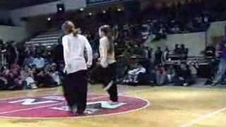 Hip-hop dance (popping n locking)
