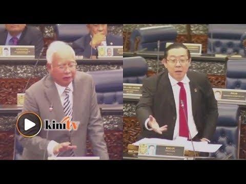 Guan Eng-Najib 'perang mulut', Dewan Rakyat kecoh