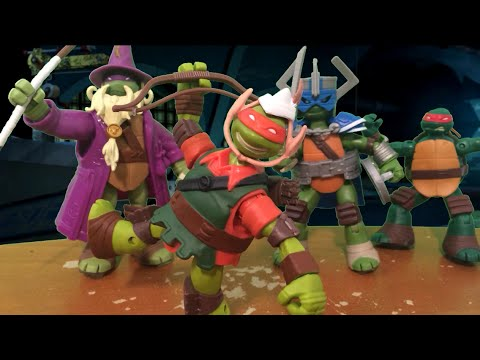tmnt 2014 stop motion halloween special