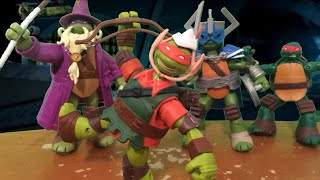 TMNT 2014 Stop Motion Halloween Special!