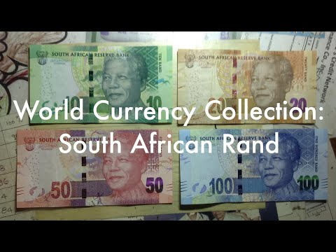 World Currency Collection: South African Rand 🇿🇦