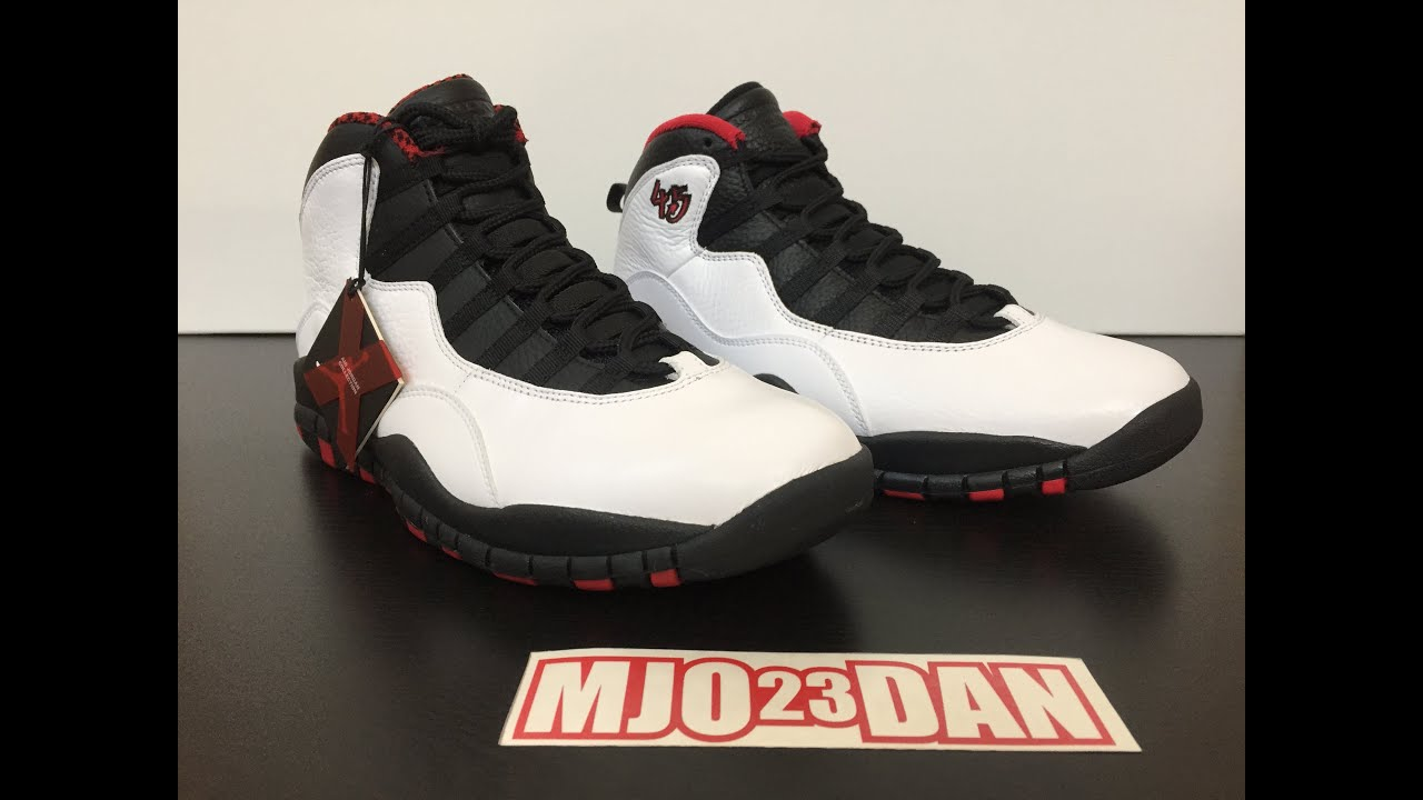 ... Comparison: Air Jordan X 10 Double Nickel vs 2012 Retro Air Jordan X 10