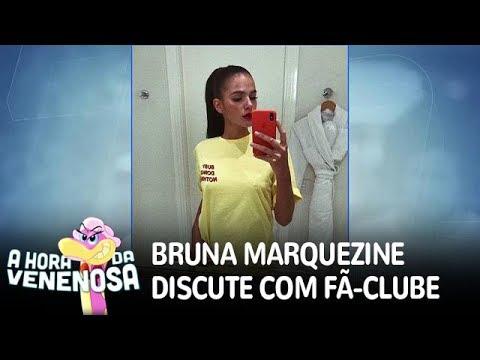 Bruna Marquezine discute com próprio fã-clube