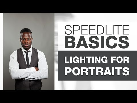 SPEEDLITE BASICS | Male Portraits with Speedlites