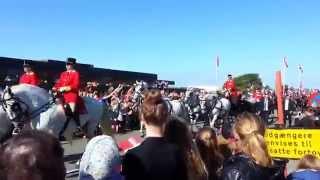 Hesteskadronen Sommertogt 2 Ringkøbing rådhus