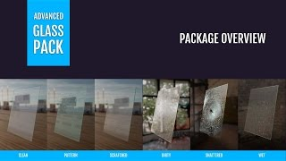 Advanced Glass / Transparent Material for Unreal Engine 4 - Details