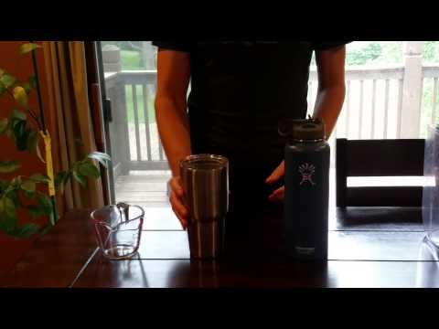 Cutting A Yeti Cup In Half Doovi