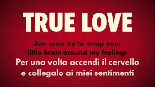 P Nk Feat Lily Rose Cooper True Love Testo E Traduzione