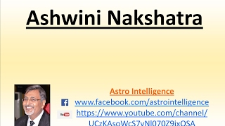 1 - Ashwini Nakshatra