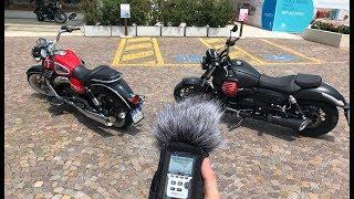 Moto Guzzi Audace vs. Eldorado: Sound test