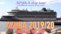 P&O AZURA passenger area tour November 2019