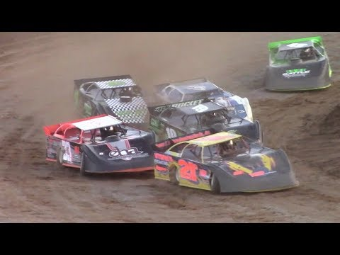 ULMS Super Late Model Heat Two | McKean County Raceway | 9-30-17