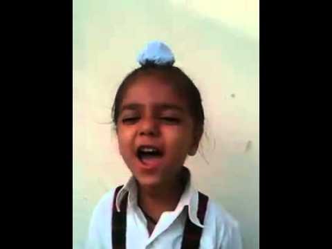Cute Punjab Kid   Best Comedy Video   Jan Gan Man By Cute Kid 2015
