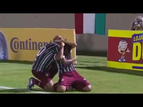 Tombense 0 x 3 Fluminense   GOLS   Copa do Brasil 2016   06 04 16
