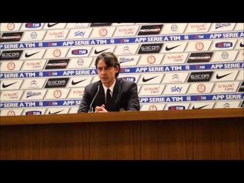 Roma-Milan 0-0  intervista a Filippo Inzaghi