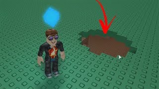ROBLOX: THE OLD MAN ENTERED A MYSTERIOUS HOLE BENEATH THE EARTH!