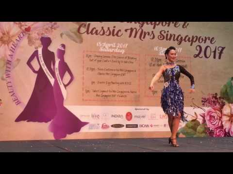 Mrs Singapore & Classic Singapore 2017 Talent Show