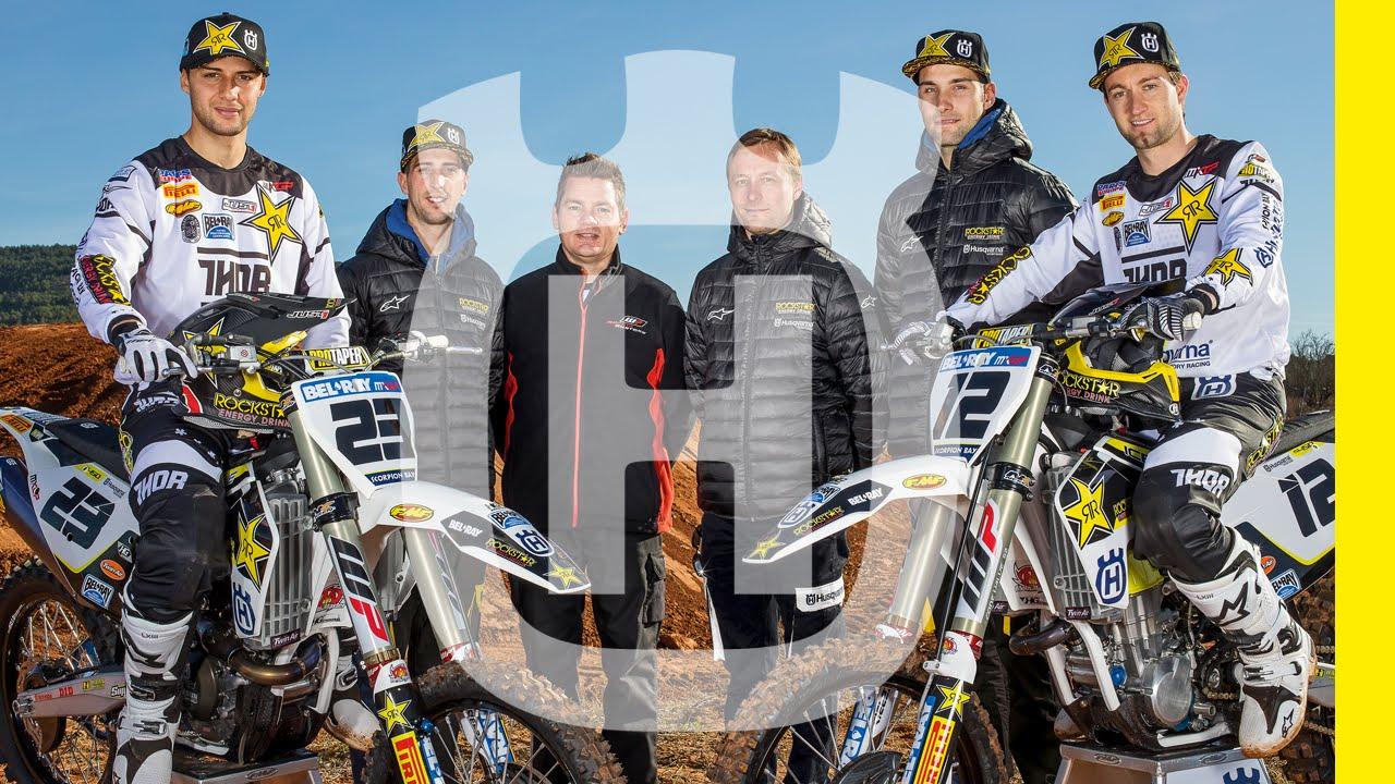 3f7013be MX Rockstar Energy Husqvarna Factory Racing Team 2016 | Husqvarna  Motorcycles - YouTube