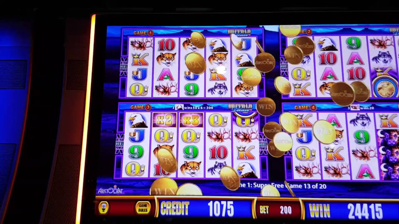 Slot Machine Deluxe Game