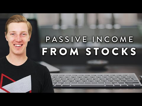 Make Passive Income from Investing in the Stock Market  |  Dividend Investing