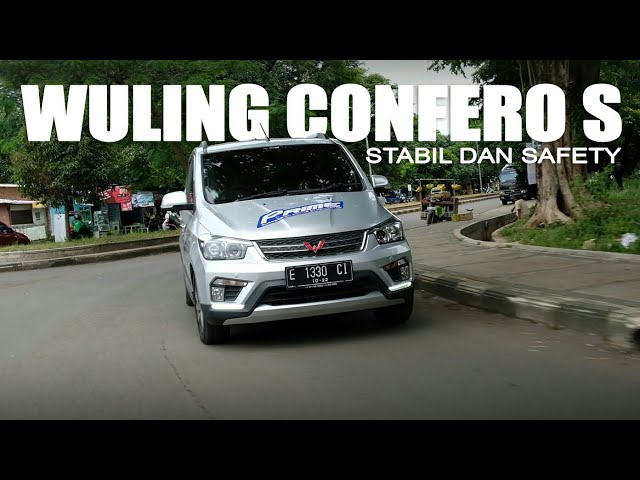 Test Wuling Confero S Setelah Upgrade PRIME Suspension