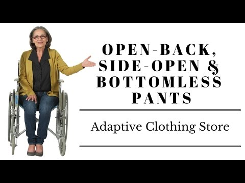 Side-open, Bottomless & Open-back Pants | Adaptive Clothing Store in Winnipeg