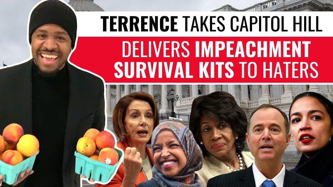 Terrence Delivers Impeachment Survival Kits