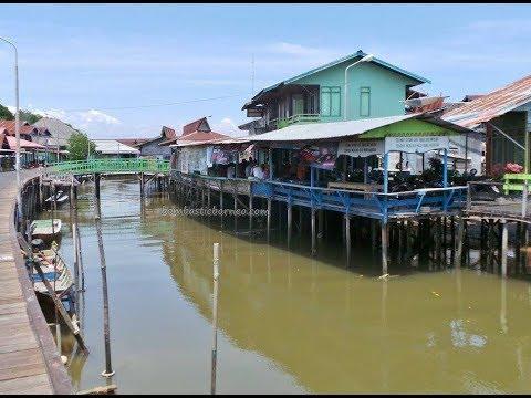 Bontang Kuala Water Village, East Kalimantan Indonesia Borneo 穿越婆罗洲印尼东加里曼丹海上村