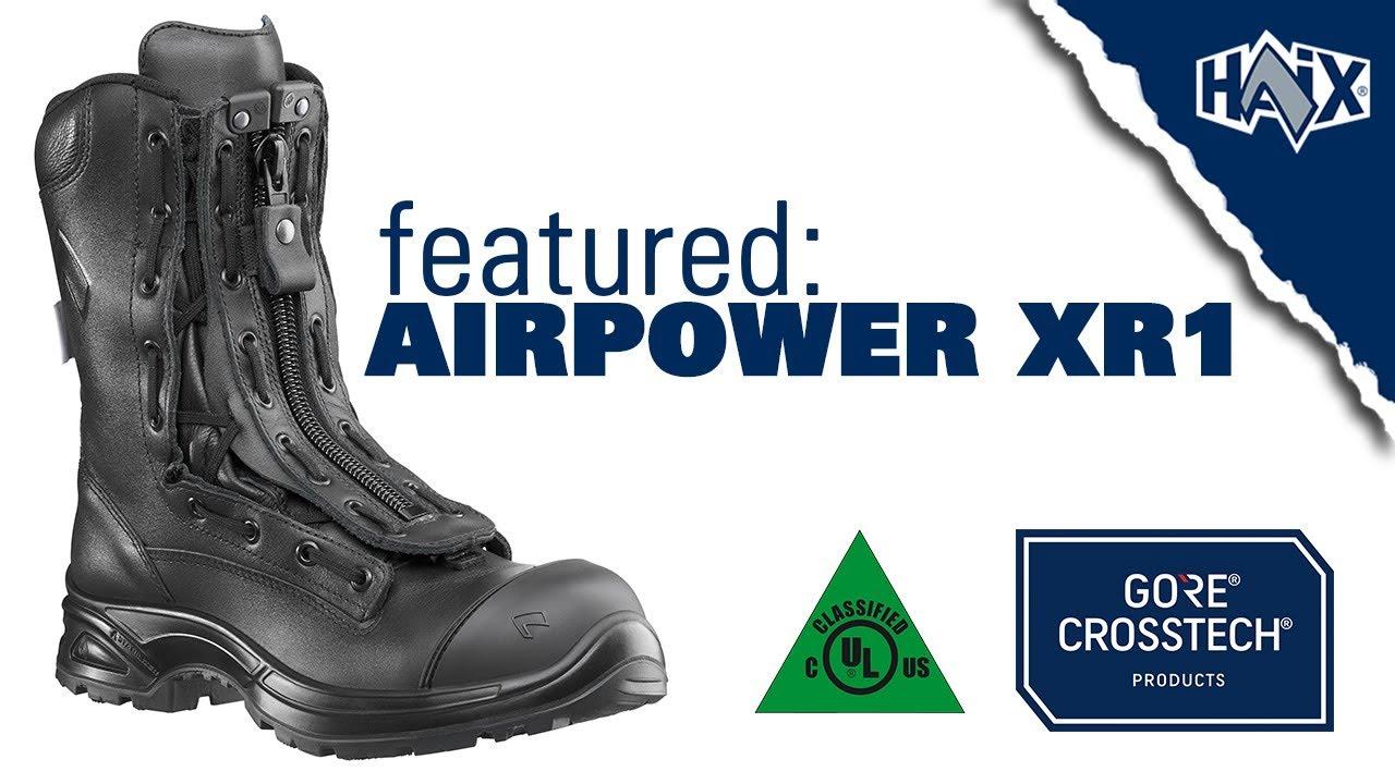 Haix Airpower XR1 Black 11 Medium