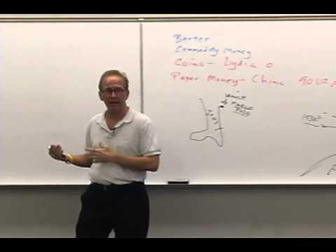 Money and Banking: Lecture 4 - Evolution of the Payments System 1