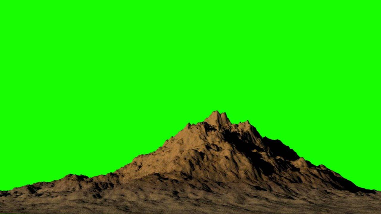 desert mountain in green screen free stock footage youtube