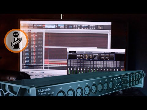 Tascam Us16x08, How Many Tracks Can You Record At Once?