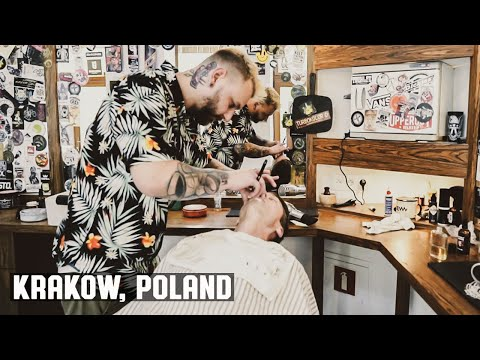 The Butter Cut Wet Shave in Krakow Poland