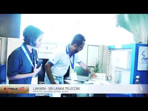 Infotel 2015 Live Interview - Strategic Partner 'Sri Lanka Telecom'