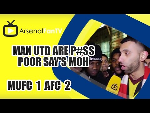 Man Utd Are P#ss Poor say's Moh | Man Utd 1 Arsenal 2