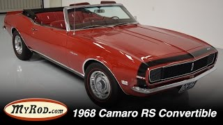 1968 Camaro Rally Sport Convertible - MyRod.com