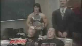 dx funny moments 15 aniversary of raw