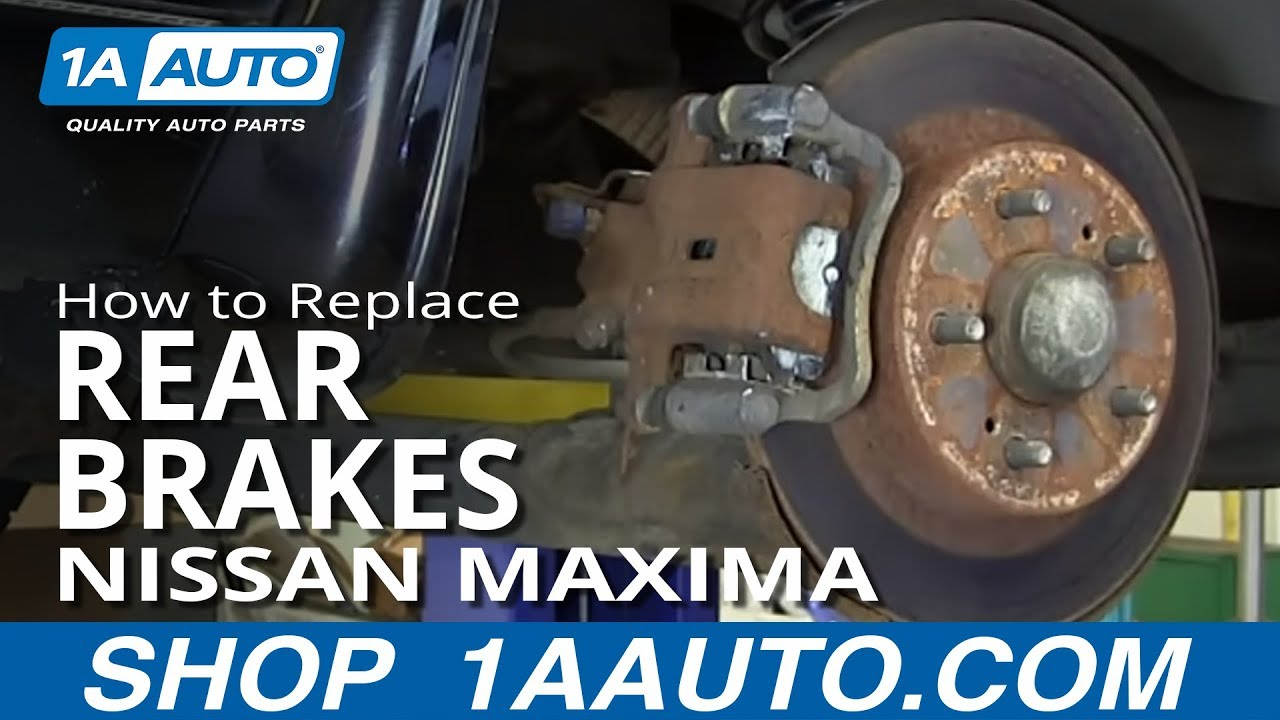 rear caliper diagram how to replace    rear    brakes 01 03 nissan maxima youtube  how to replace    rear    brakes 01 03 nissan maxima youtube