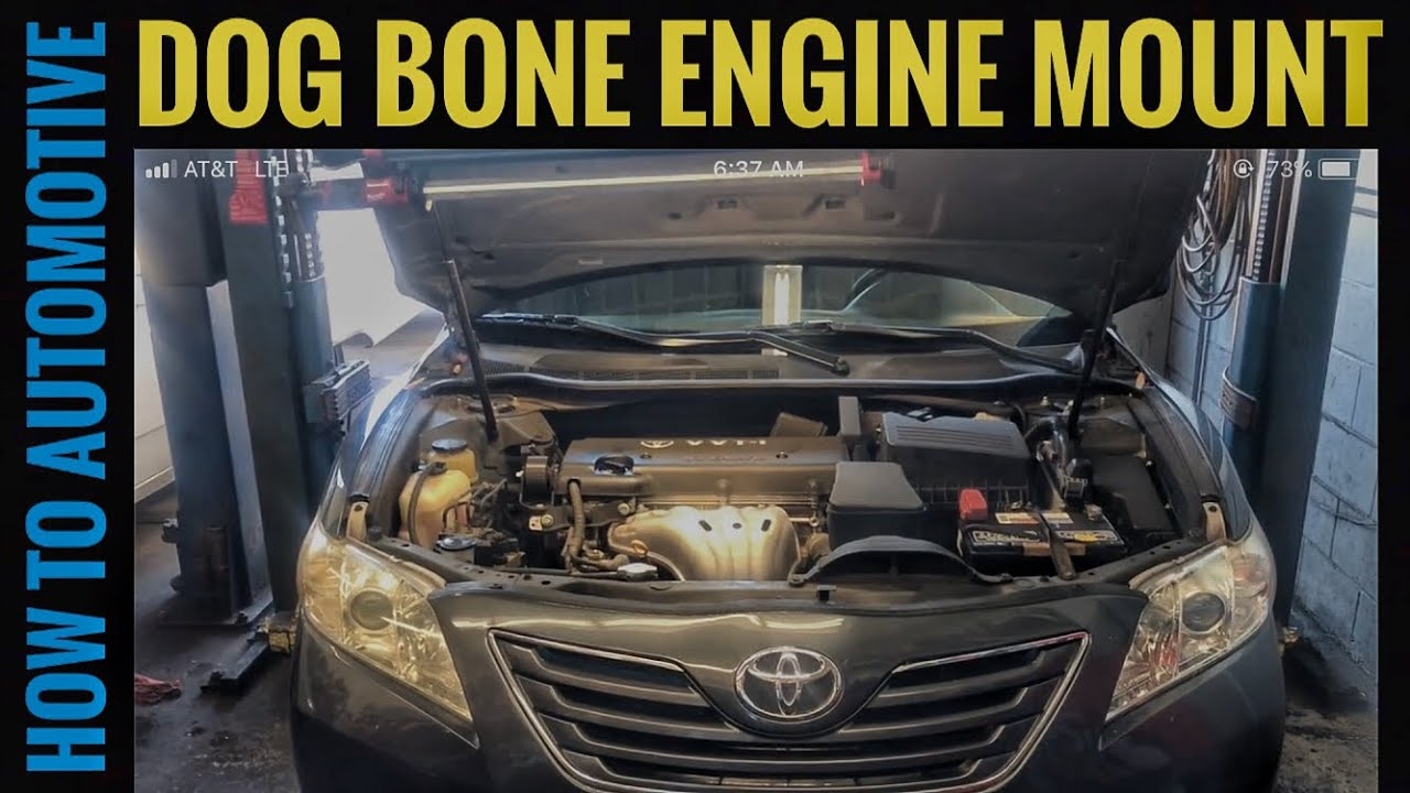 How To Replace The Dog Bone Engine Mount On A 2006 2011