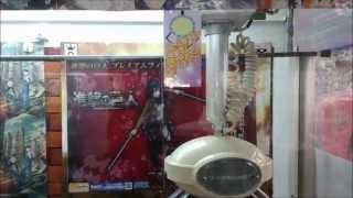 クレーンゲーム ufoキャッチャー 進撃の巨人 ミカサ・アッカーマン 反動台