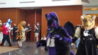 Califur 2017 Fursuit Parade