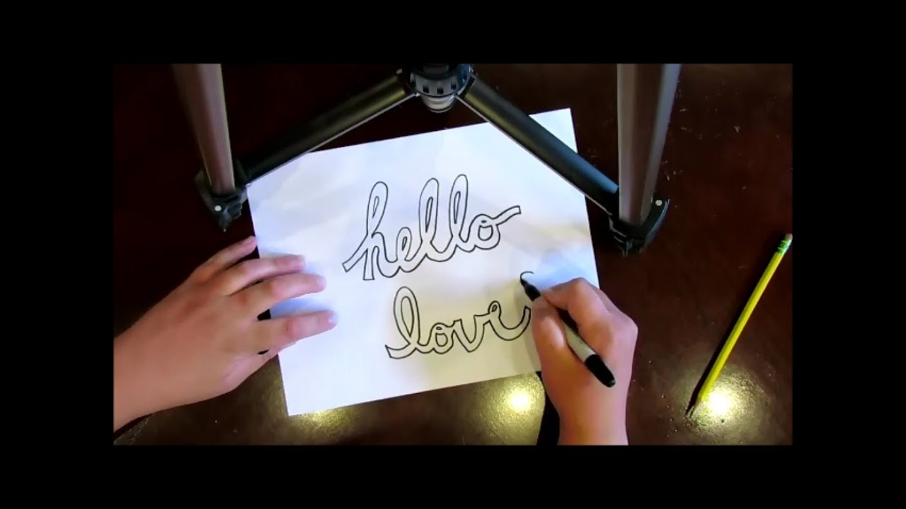 How To Draw Cursive Block And Bubble Letters Super Easy  Youtube