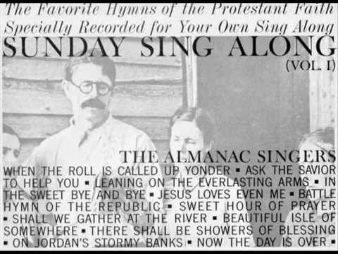 "The Almanac Singers ""There shall be Showers of Blessing"""